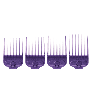 Andis Large Nano Silver Magnetic 4 pc Comb Set #66320