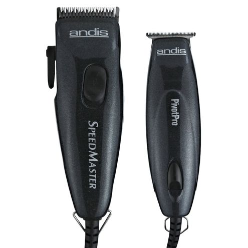 Barber Quality Beard Trimmer : Andis Pivot Motor Clipper / Trimmer Combo- Barber supplies