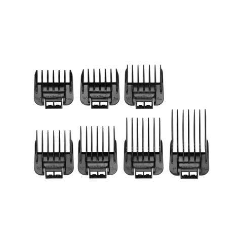 Andis Snap-On Blade Attachment Combs, 7-Comb Set