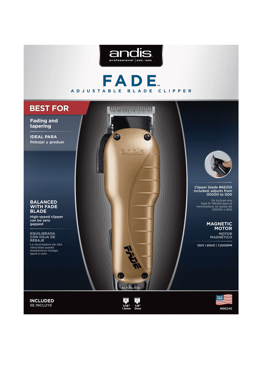 Andis Fade Clipper #66245 - Barber supplies, Barber Depot