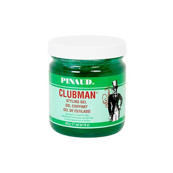 Clubman Styling Hair Gel Green Jar Barber Supplies