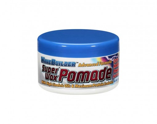 Barber Wax : WaveBuilder Super Wax Advanced Formula Pomade - barber supplies
