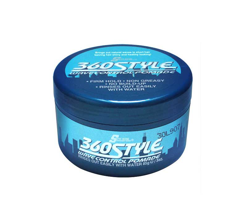 Luster S S Curl 360 Style Wave Waterbased Pomade Barber