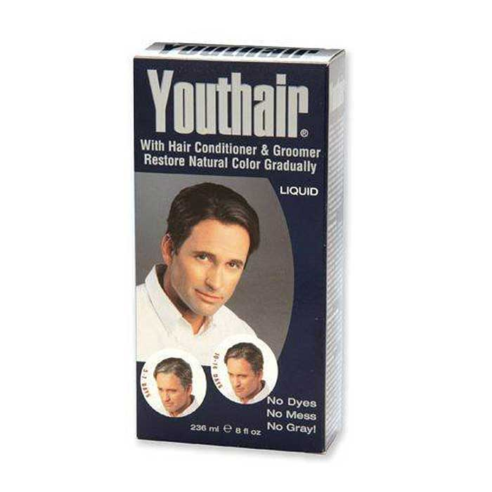 Youthair Hair Color Conditioner For Men Liquid Barber Supplies
