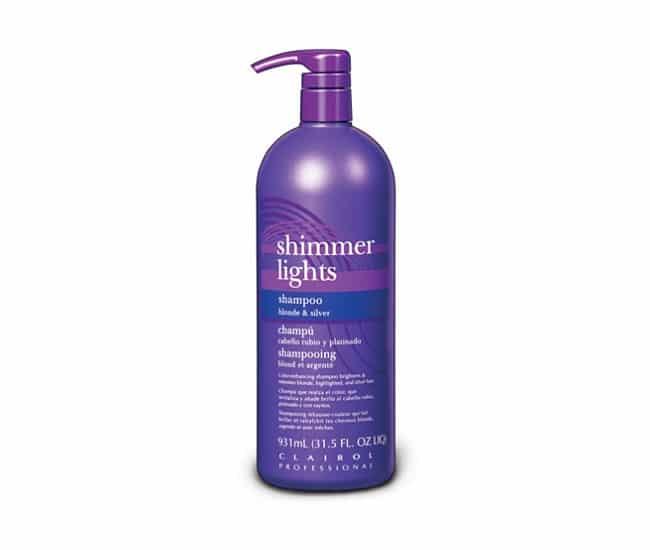 clairol shimmer lights shampoo 31 5 oz barber supplies barber depot. Black Bedroom Furniture Sets. Home Design Ideas