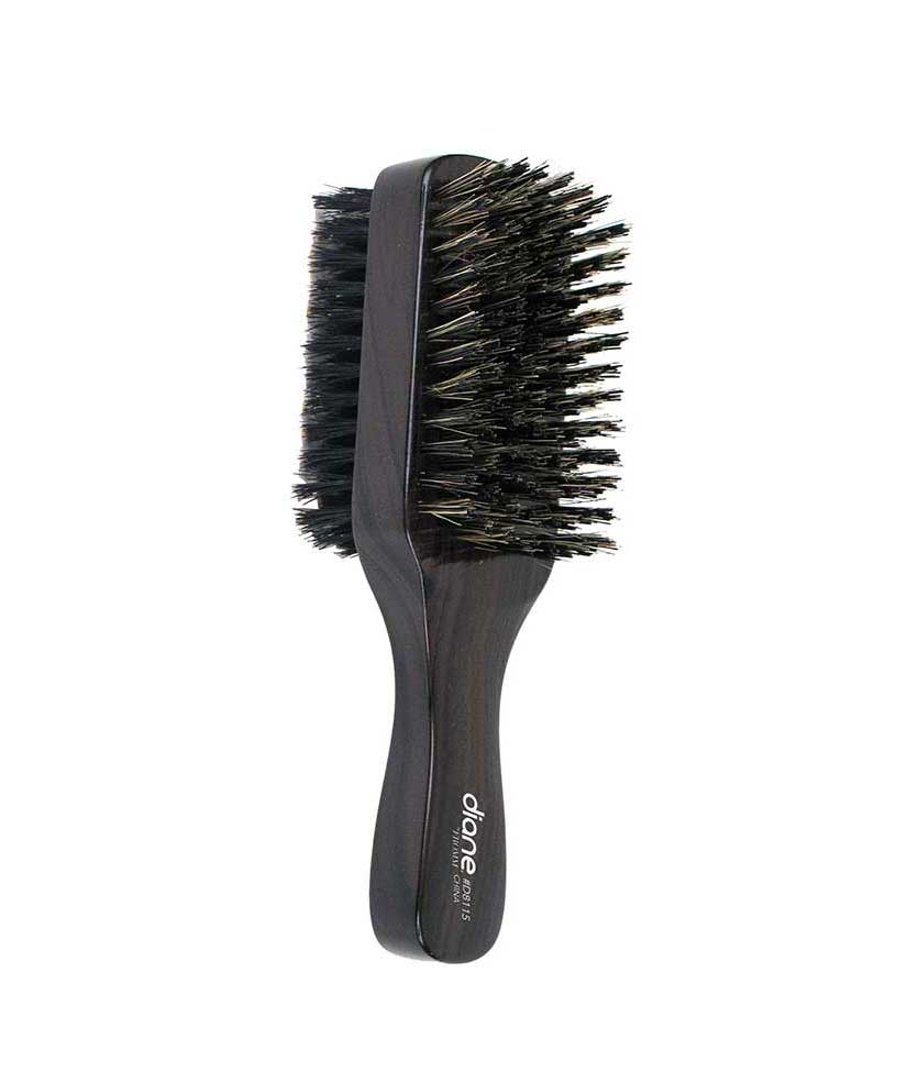Diane Brush 100 Boar 2 Sided 8 Row Club Brush Barber