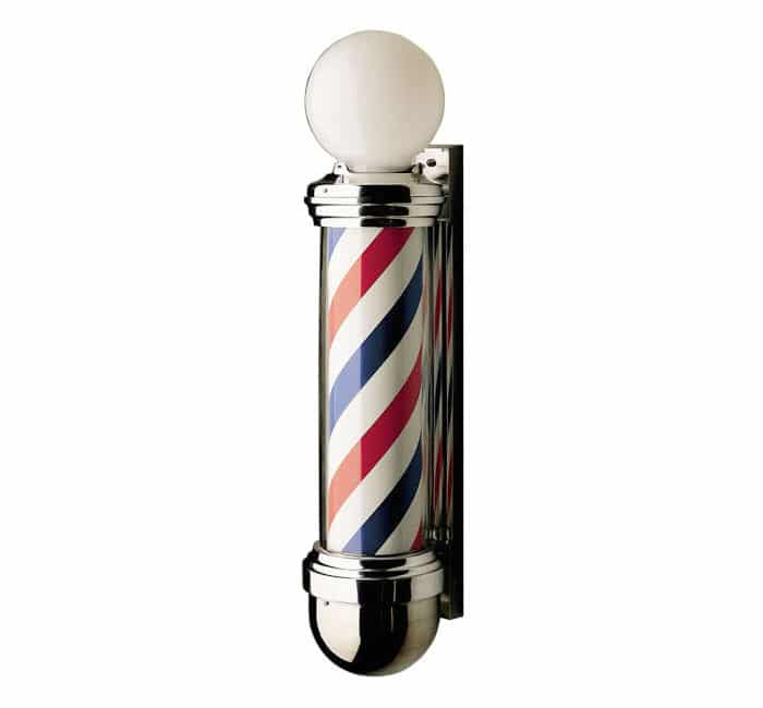 Marvy #824 Two Light Barber Pole -Barber supplies, Barber Depot