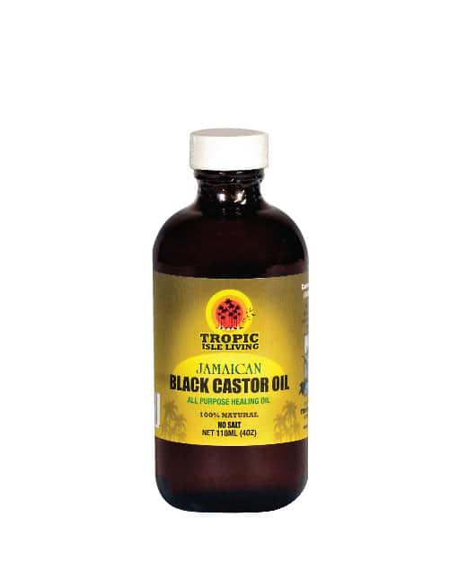 Tropic Isle Living Jamaican Black Castor Oil - All Purpose Heaing Oil 4oz