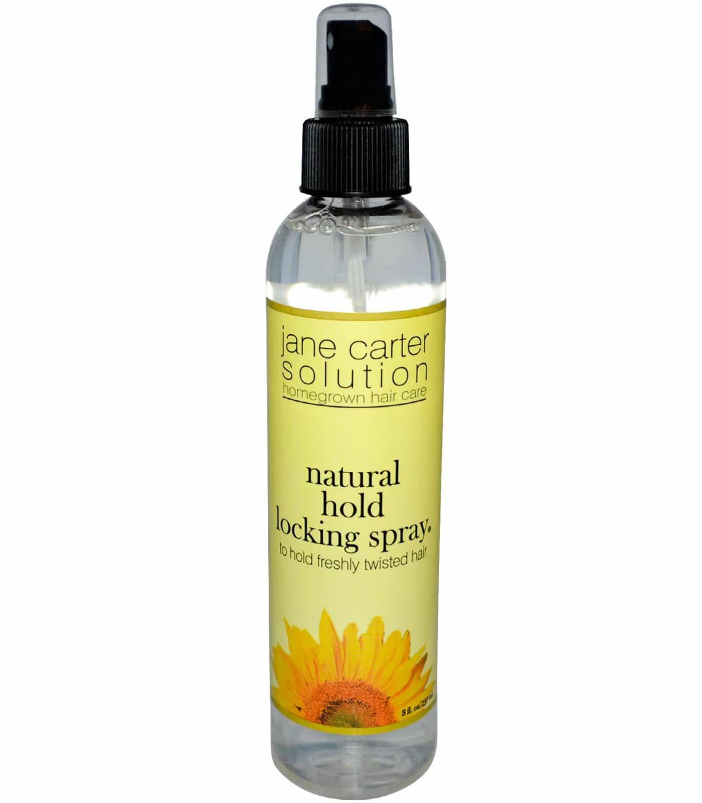 Jane Carter Natural Hold Locking Spray 8oz Barber Depot