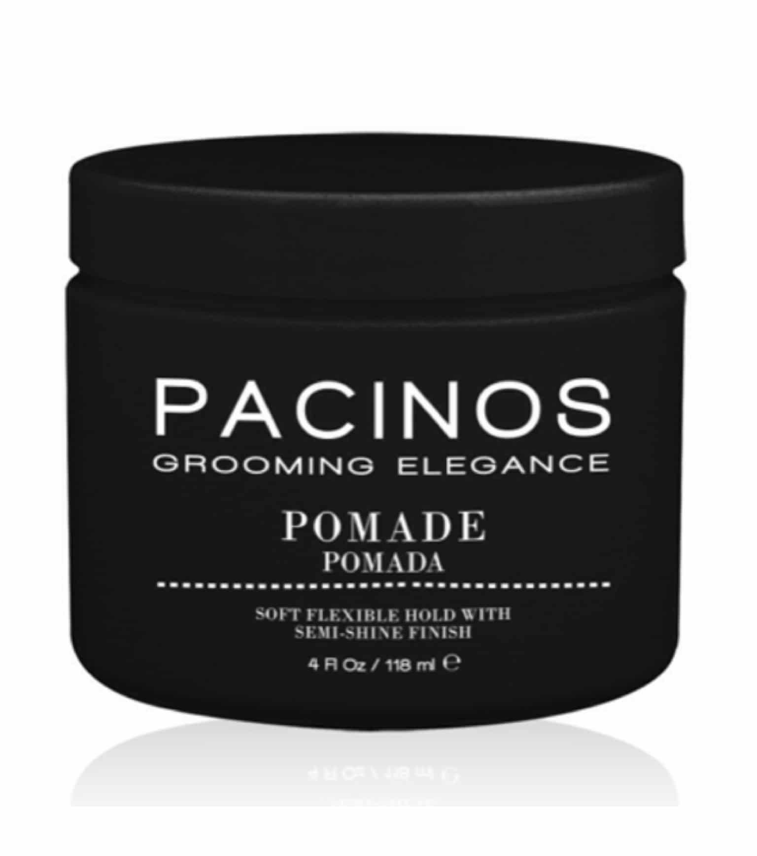 Pacinos Grooming Elegance Pomade 4oz Barber Depot