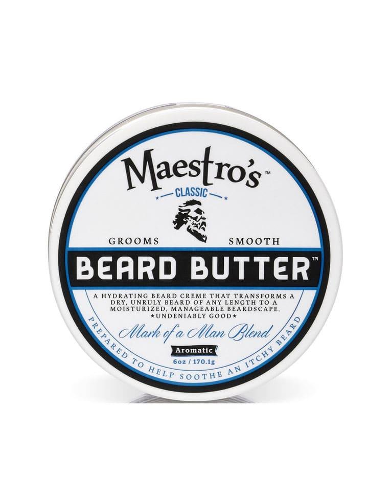 Maestro S Beard Butter Mark Of A Man Blend 4oz 8oz