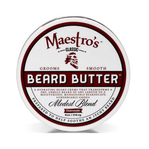 Maestro's Beard Butter - Modest Blend - 3oz / 6oz