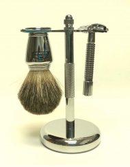 Scalpmaster Chrome Shaving Set