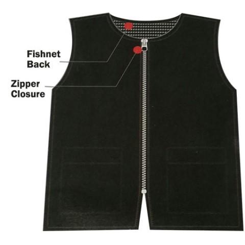 BlackIce Barber Vest, Black