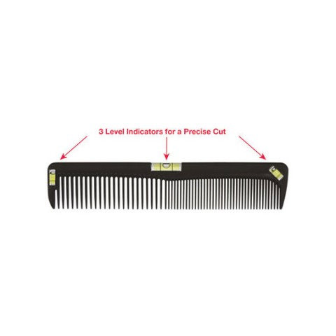 "Scalpmaster 8"" Cutting Comb with Level"