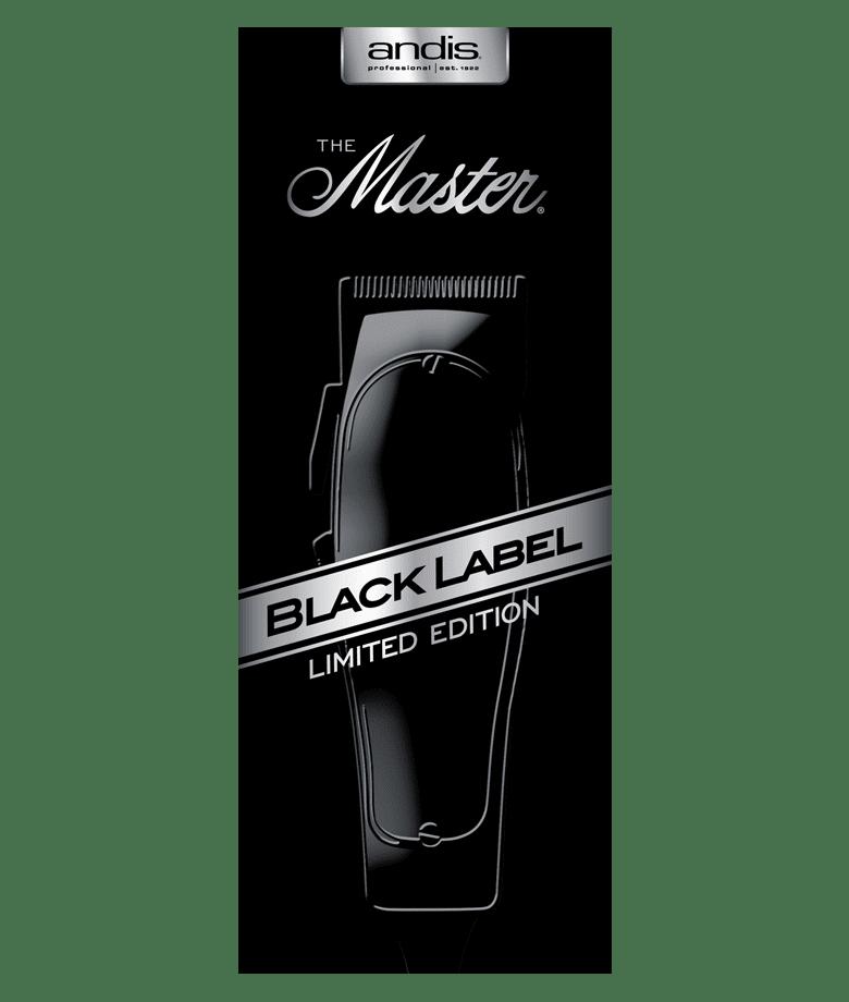 barber supply andis master limited edition black label. Black Bedroom Furniture Sets. Home Design Ideas
