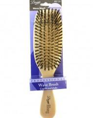 """Diane Reinforced Boar Wave Brush 9"""""""