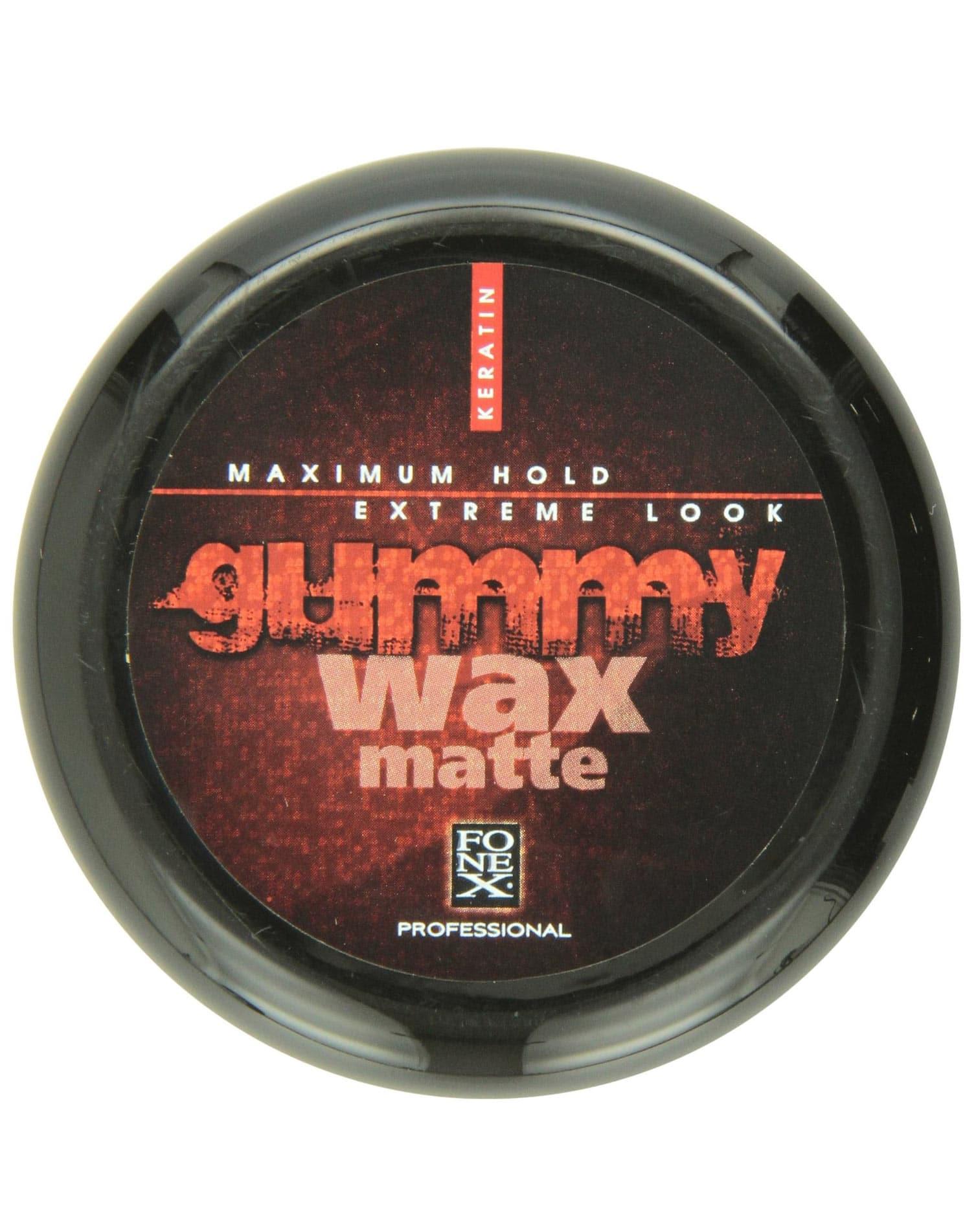 Barber Supplies Fonex Gummy Wax Matte 4 7oz