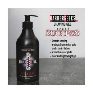 BarberGeeks Shaving Gel 16oz 500ml