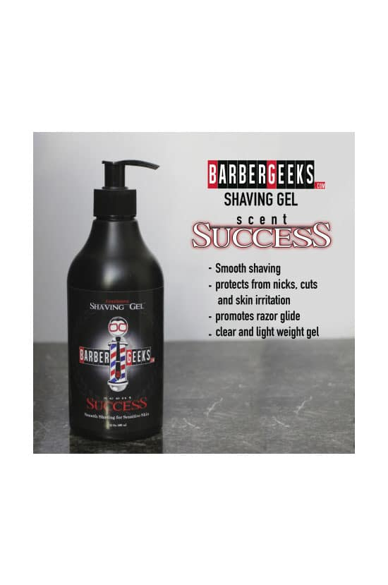 Barbergeeks Shaving Gel 16oz 500ml Barber Depot