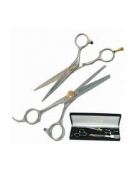 Ninja Swordsman 6.5″ Duo Set (1 Offset & 1 Thinning Shear)