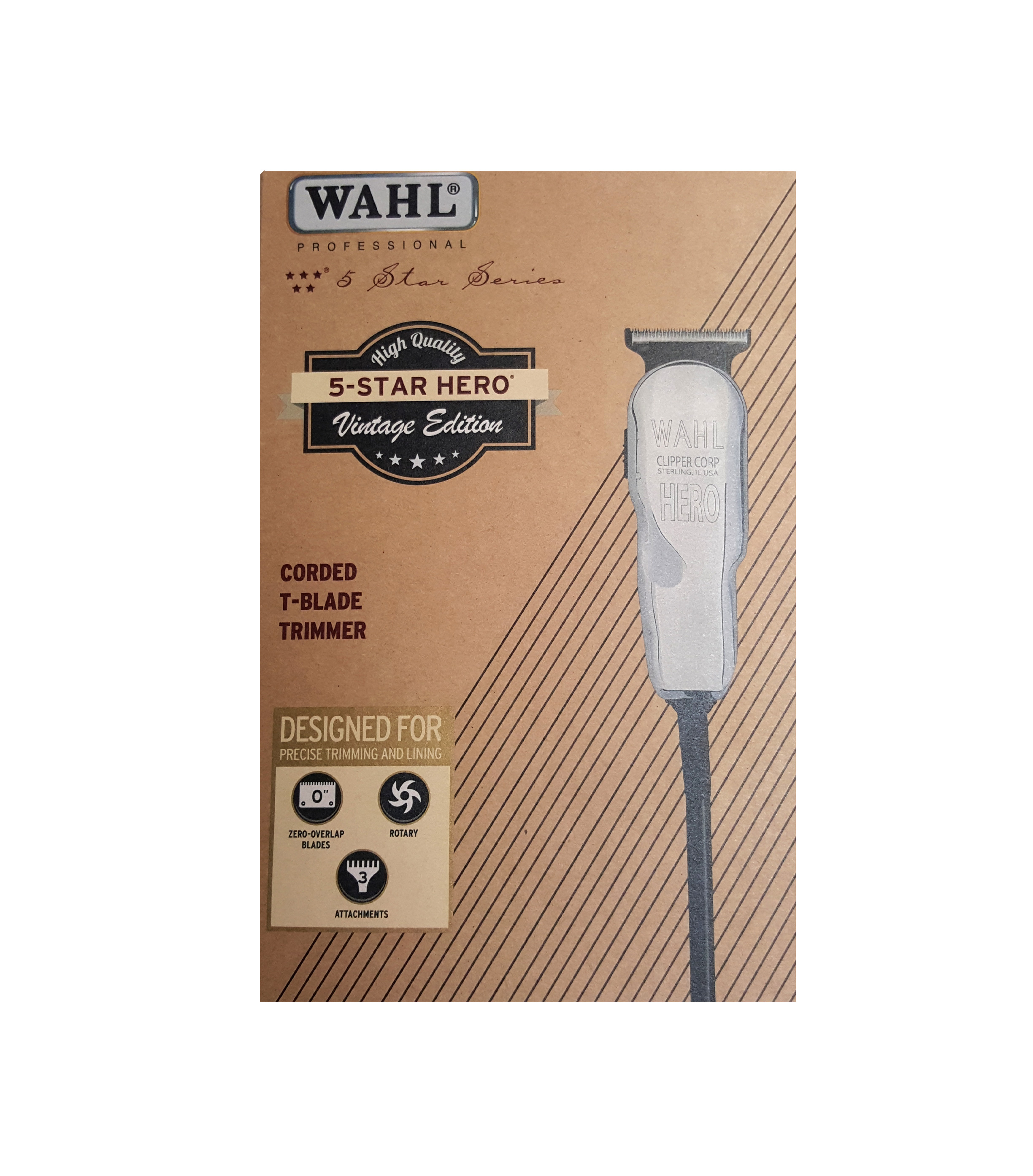 Wahl 5 Star Hero Vintage Edition 8991 300 Barber Depot Clipper Classic Series 1 Usa