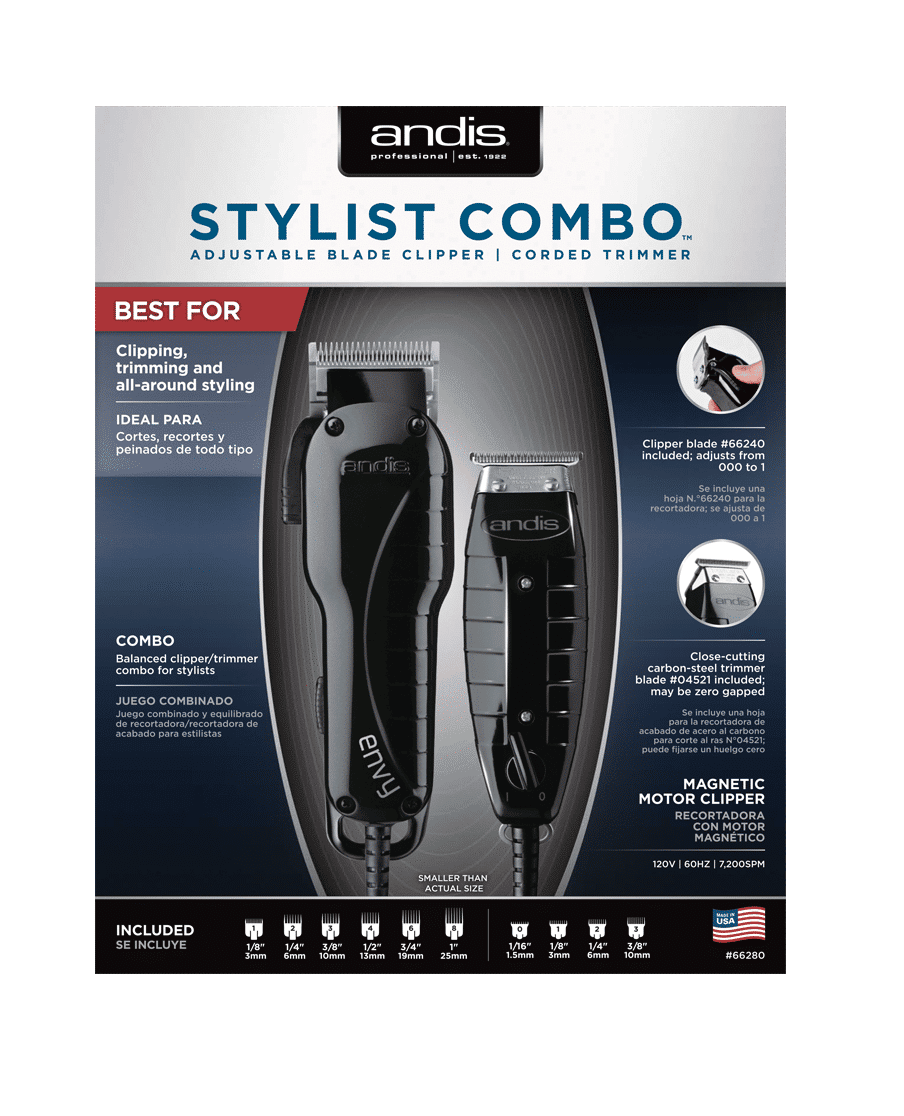 Andis Stylist Combo 66280 Barber Depot