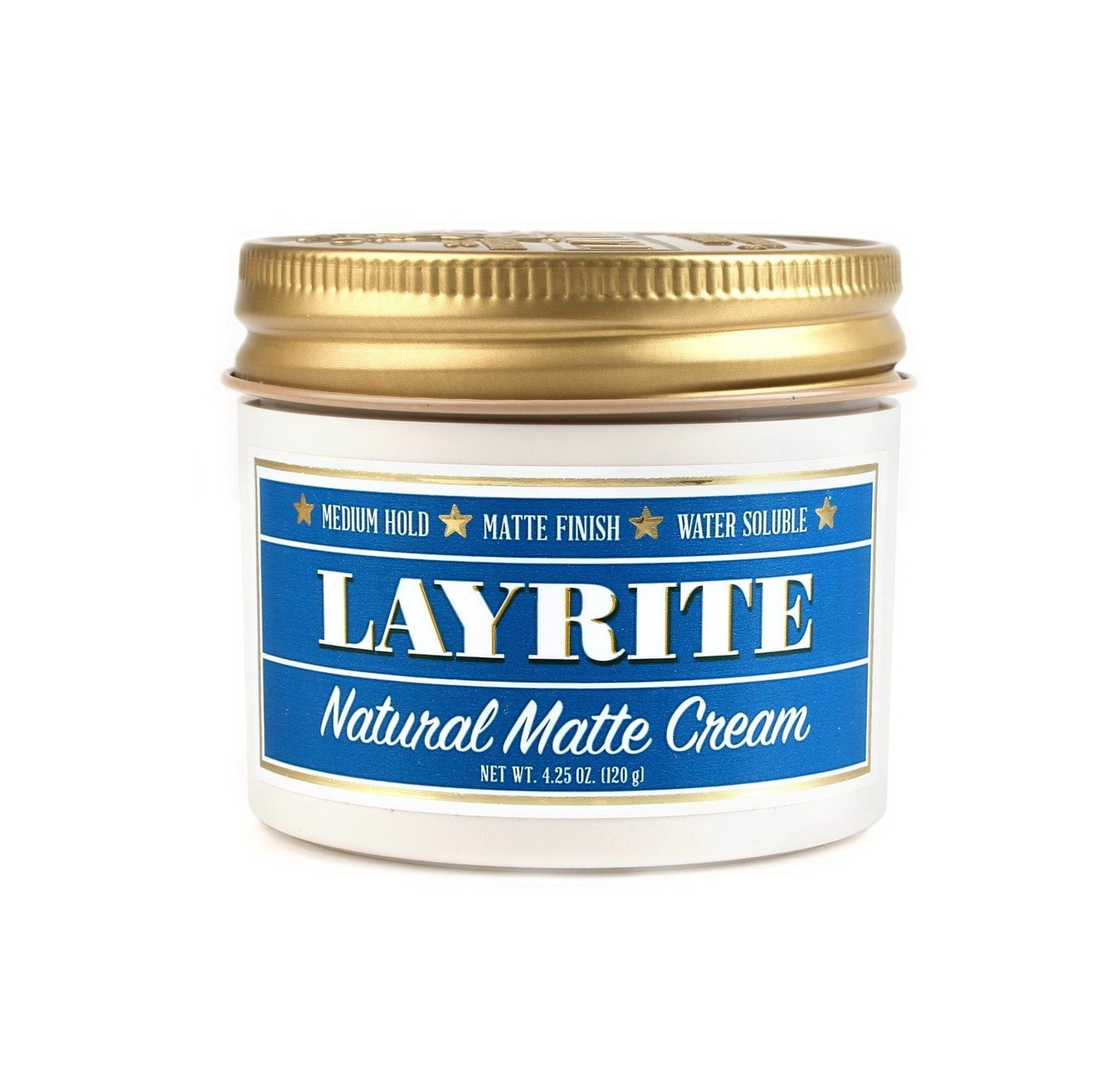 Barber Wax : Layrite Natural Matte Cream - Barber Depot