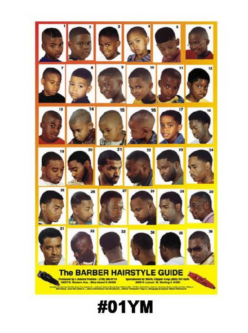 barber hairstyle guide