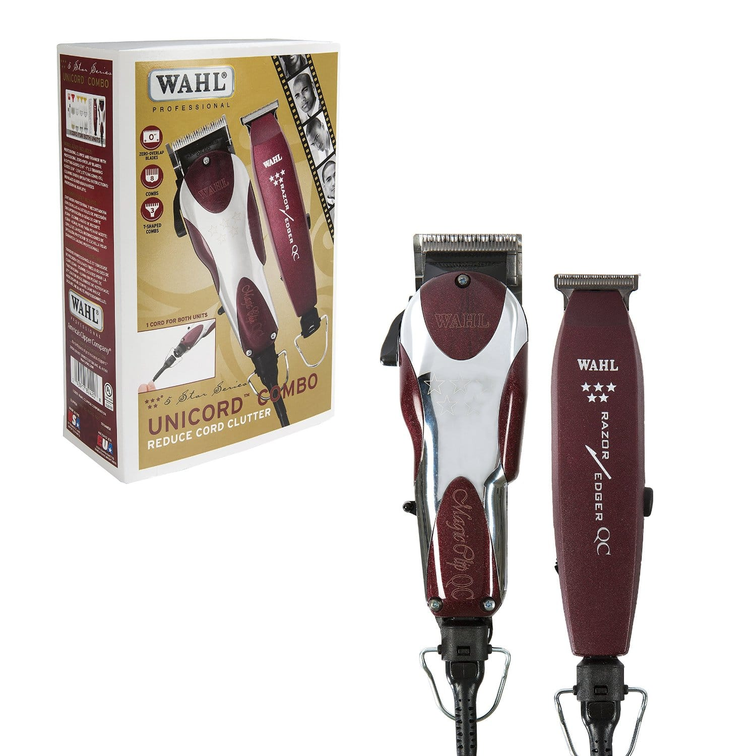 Wahl 5 Star Unicord Combo 8242 Barber Depot Clipper Classic Series 1 Usa