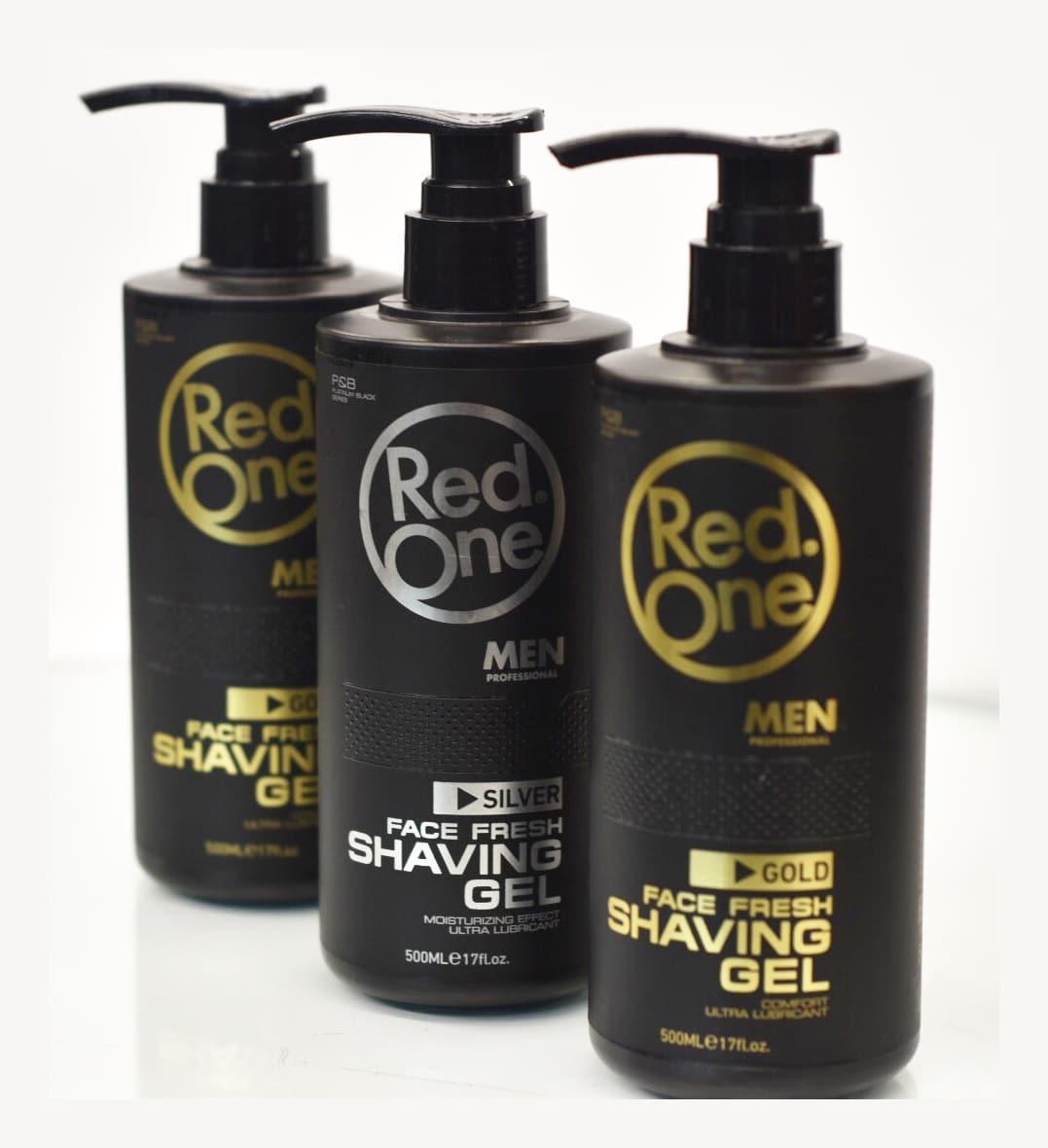 Red One Face Fresh Shaving Gel Barber Depot