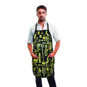 Gold Barber Apron