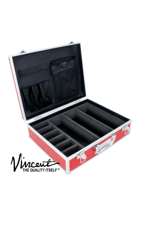 Vincent Barber Master Case Small Red Barber Depot